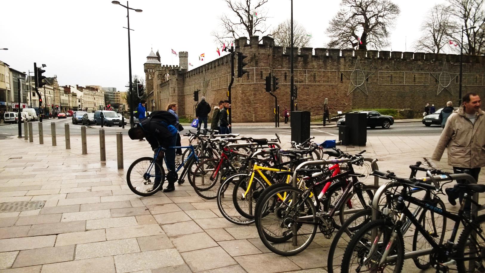 Cardiff Cycling Boom