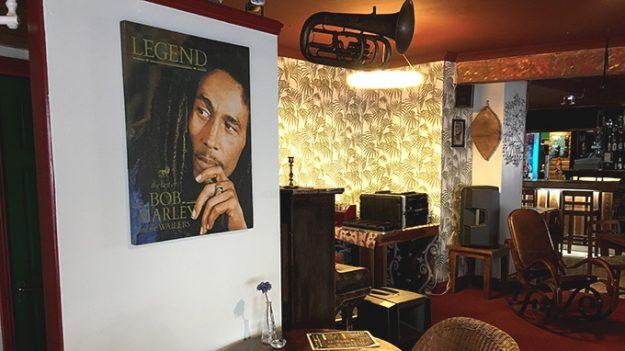 Marley, reggae legend