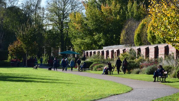 Being in parks is beneficial to mental health, studies say.