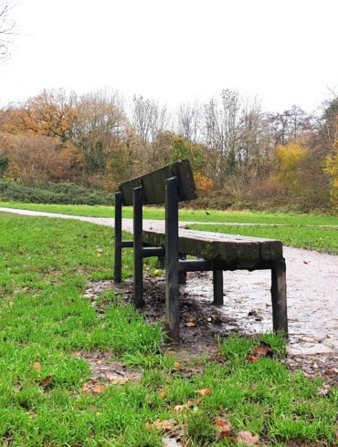 chair on a trail
