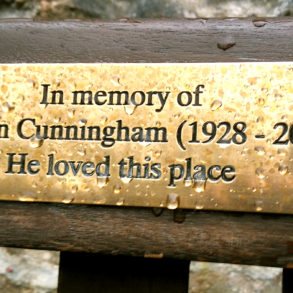 Norman Cunningham Plaque