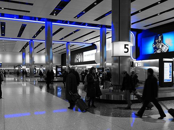 Heathrow Baggage Hall