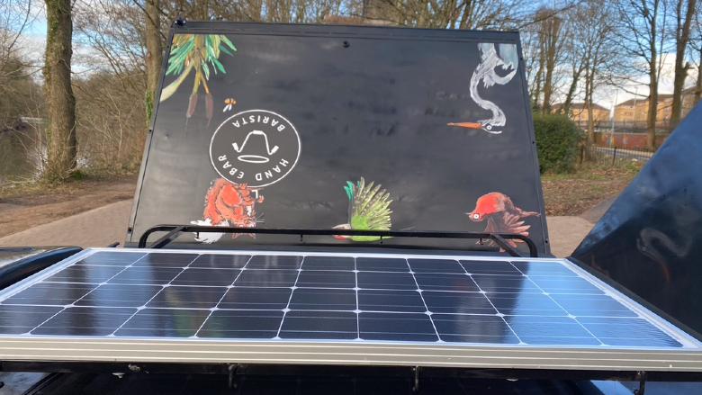 Handlebar Solar Panels