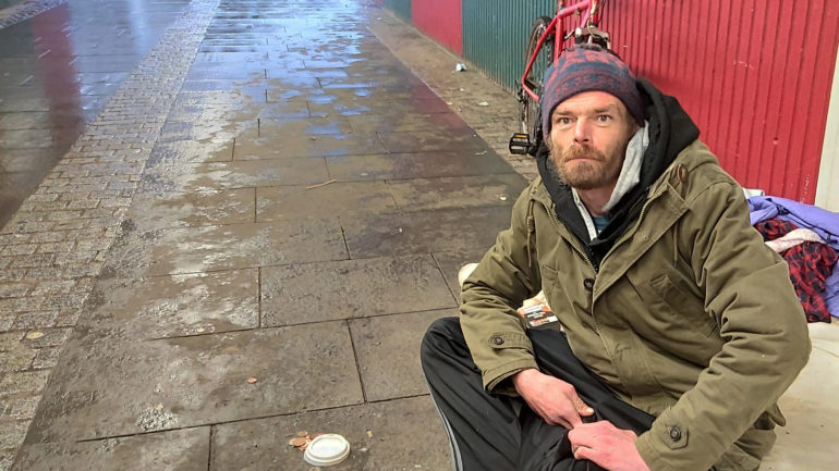 Homeless in Cardiff helped by COVID-19