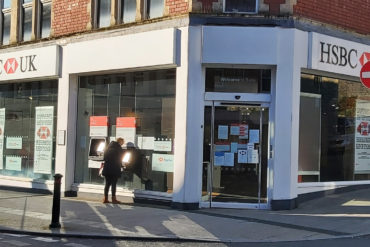 Barry's Holton Road HSBC is due to close in September 2021.