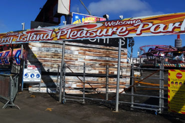 Barry Island Pleasure Park remains closed until further notice.