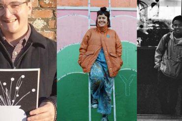 Trin Brierley, Marcus Smith (MARCA) and Steffan Dafydd